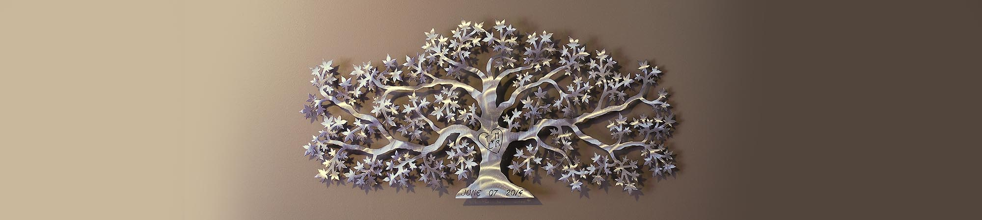 Anvil Island Design Tree of Love Wedding Gift